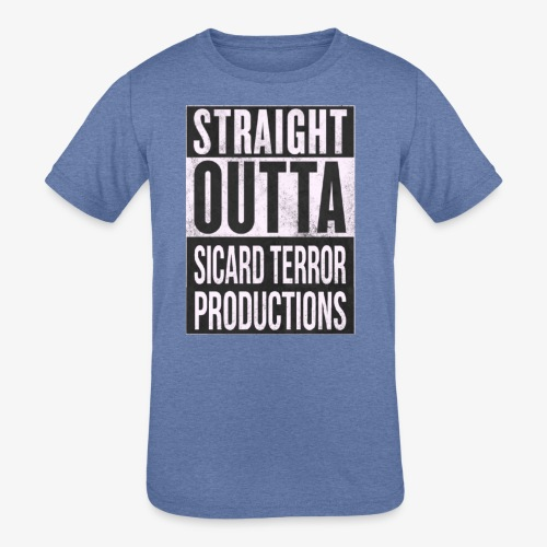 Strait Out Of Sicard Terror Productions - Kids' Tri-Blend T-Shirt