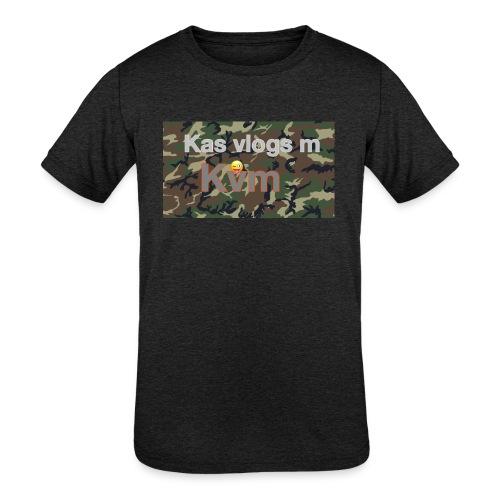 Camo t-shirt - Kids' Tri-Blend T-Shirt