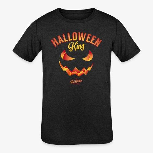 Halloween King - Kids' Tri-Blend T-Shirt