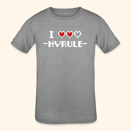 I Love Hyrule - Kids' Tri-Blend T-Shirt