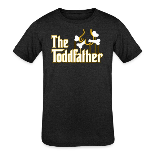 The Toddfather - Kids' Tri-Blend T-Shirt
