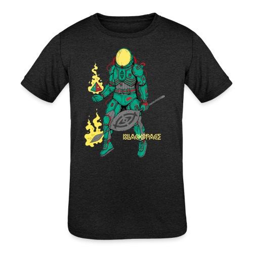 Afronaut - Kid's Tri-Blend T-Shirt