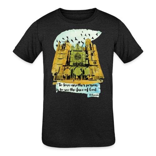 El camino - Kids' Tri-Blend T-Shirt