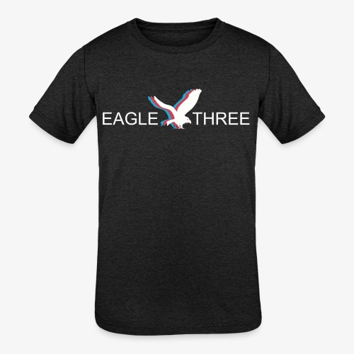 EAGLE THREE APPAREL - Kids' Tri-Blend T-Shirt