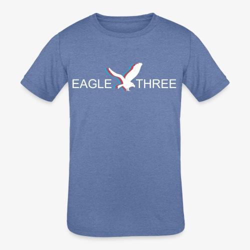 EAGLE THREE APPAREL - Kids' Tri-Blend T-Shirt