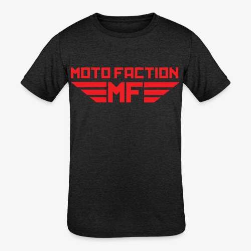 MotoFaction Logo - Kids' Tri-Blend T-Shirt