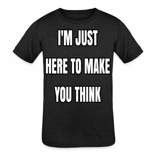 IJHTMYT (White Font) - Kids' Tri-Blend T-Shirt