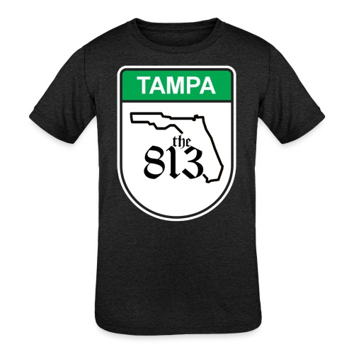 Tampa Toll - Kids' Tri-Blend T-Shirt