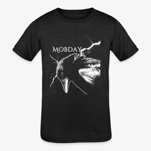 Mobday Blackbird Reissue - Kids' Tri-Blend T-Shirt