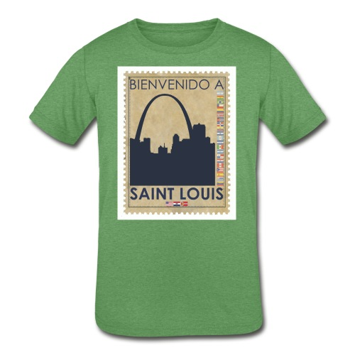 Bienvenido A Saint Louis - Kids' Tri-Blend T-Shirt
