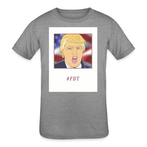 Fuck Donald Trump! - Kids' Tri-Blend T-Shirt