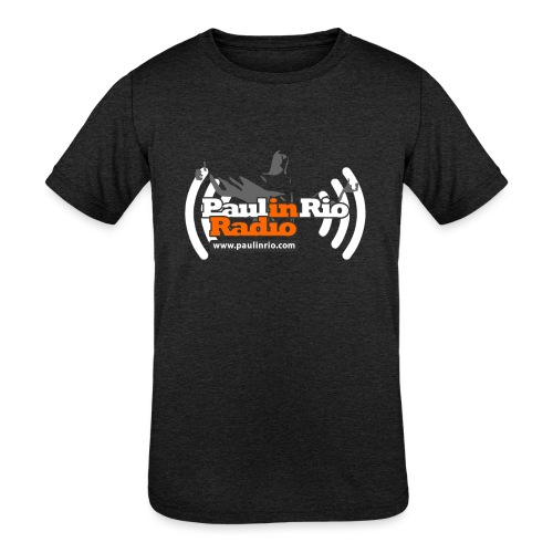 Paul in Rio Radio - Thumbs-up Corcovado #1 - Kids' Tri-Blend T-Shirt