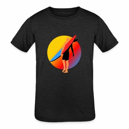 SURFER - Kids' Tri-Blend T-Shirt