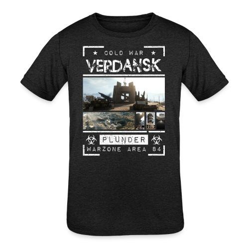 Verdansk Plunder - Kids' Tri-Blend T-Shirt