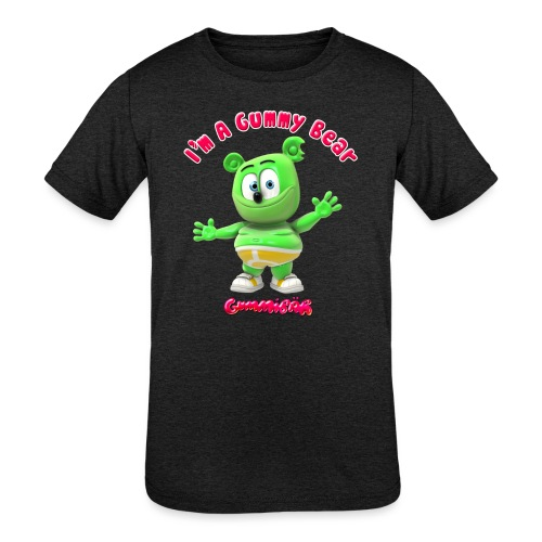 I'm A Gummy Bear - Kids' Tri-Blend T-Shirt