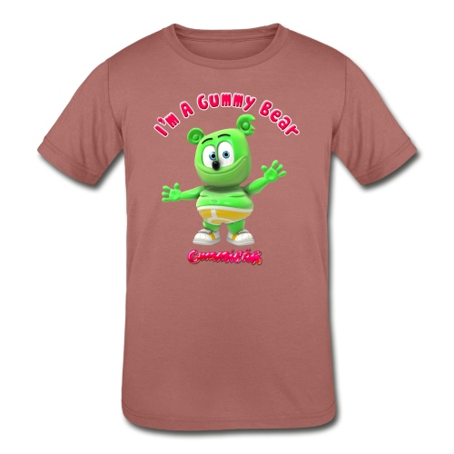 I'm A Gummy Bear - Kids' Tri-Blend T-Shirt