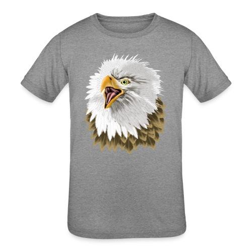 Big, Bold Eagle - Kids' Tri-Blend T-Shirt