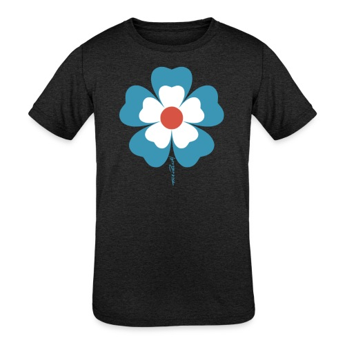 flower time - Kids' Tri-Blend T-Shirt
