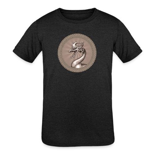 Laughing Dragon - Kids' Tri-Blend T-Shirt