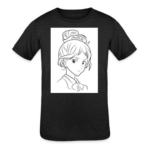 Girl - Kids' Tri-Blend T-Shirt