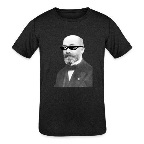 Zamenhof Shades (BW) - Kids' Tri-Blend T-Shirt