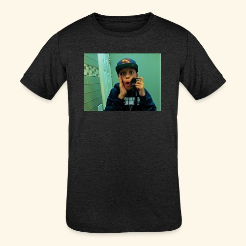 Pj Vlogz Merch - Kids' Tri-Blend T-Shirt