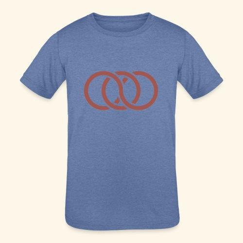 circle paradox - Kids' Tri-Blend T-Shirt