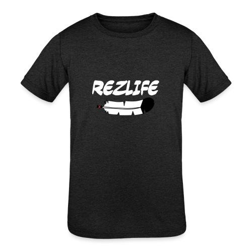 Rez Life - Kids' Tri-Blend T-Shirt