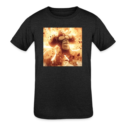 Angry Gorilla Explosion - Kids' Tri-Blend T-Shirt