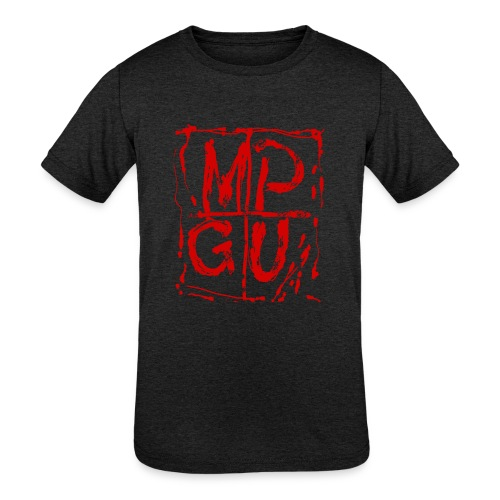MPGU RED STROKE - Kids' Tri-Blend T-Shirt
