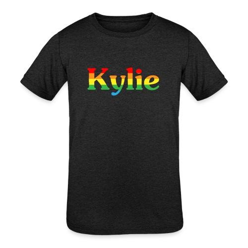 Kylie Minogue - Kids' Tri-Blend T-Shirt