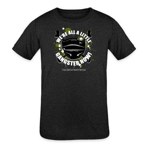 Covid Gangster - Kids' Tri-Blend T-Shirt