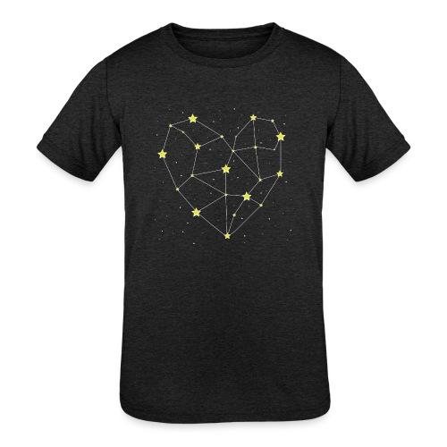 Heart in the Stars - Kids' Tri-Blend T-Shirt