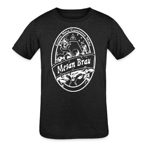 mesanbraucthsingle - Kids' Tri-Blend T-Shirt