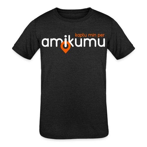 Kaptu min per Amikumu Blanka - Kids' Tri-Blend T-Shirt