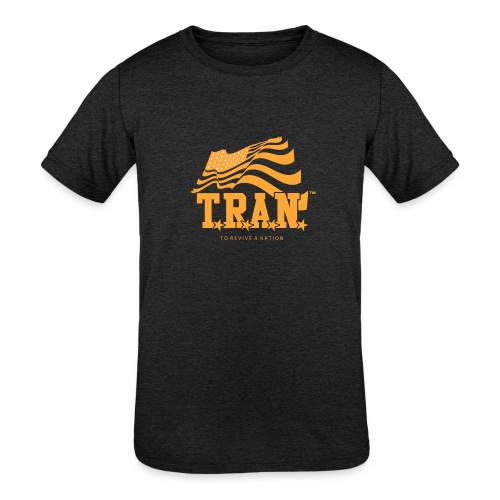 TRAN Gold Club - Kids' Tri-Blend T-Shirt