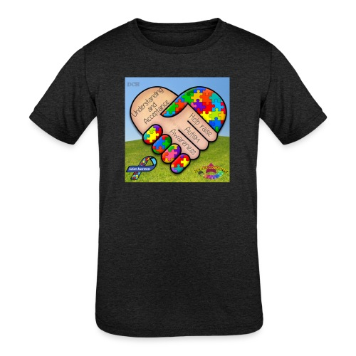 autpro1 - Kids' Tri-Blend T-Shirt