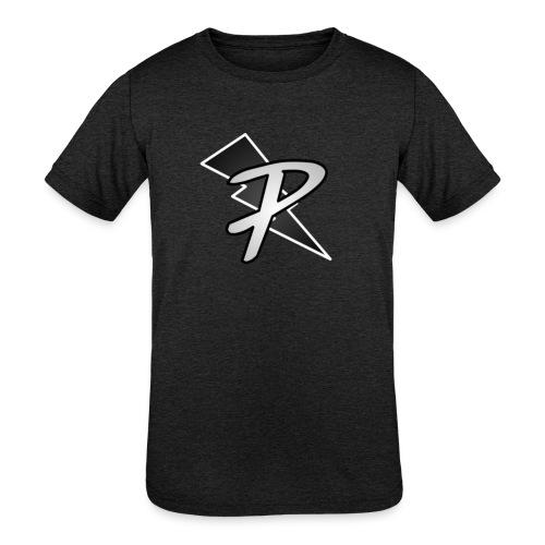 Pig nation Big logo t - Kids' Tri-Blend T-Shirt