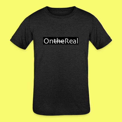 OntheReal coal - Kids' Tri-Blend T-Shirt