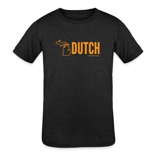 Michigan Dutch (orange) - Kids' Tri-Blend T-Shirt
