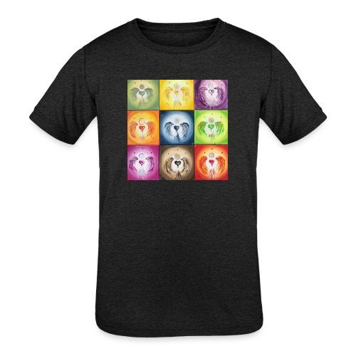 Heartangel Mix - Kids' Tri-Blend T-Shirt