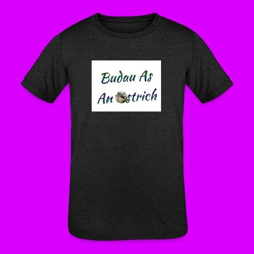 ipod touch ostrich box - Kids' Tri-Blend T-Shirt