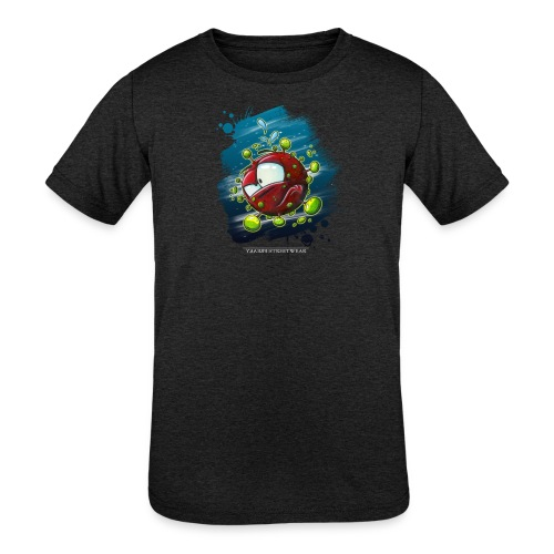 Covid - Kids' Tri-Blend T-Shirt