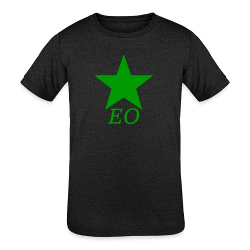 EO and Green Star - Kids' Tri-Blend T-Shirt