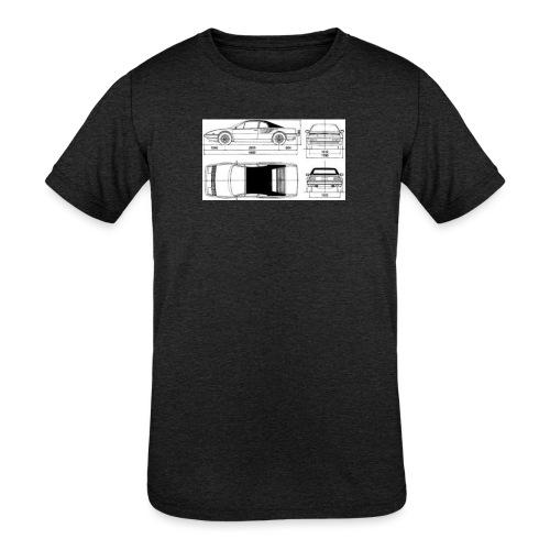 artists rendering - Kids' Tri-Blend T-Shirt
