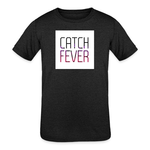 CATCH FEVER 2017 LOGO - Kids' Tri-Blend T-Shirt