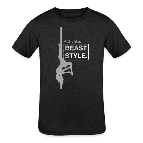 Activate: Beast Style - Kids' Tri-Blend T-Shirt