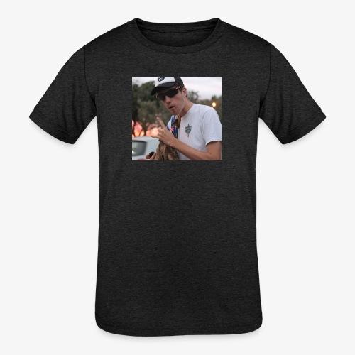 big man - Kids' Tri-Blend T-Shirt