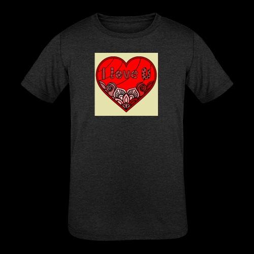 DE1E64A8 C967 4E5E 8036 9769DB23ADDC - Kids' Tri-Blend T-Shirt
