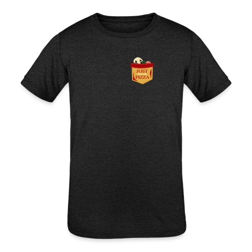 Just feed me pizza - Kids' Tri-Blend T-Shirt